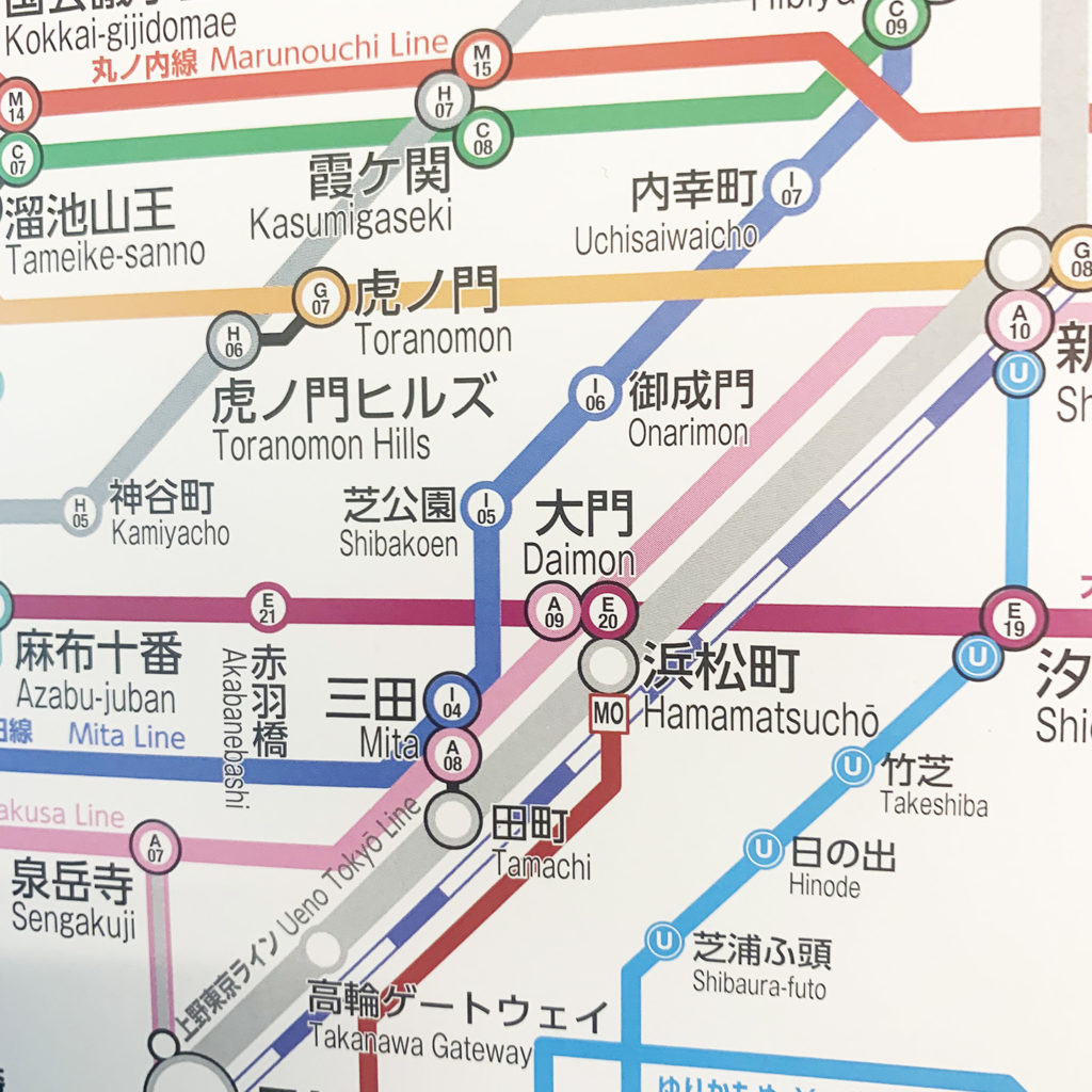 線 日比谷 路線 メトロ 図 東京